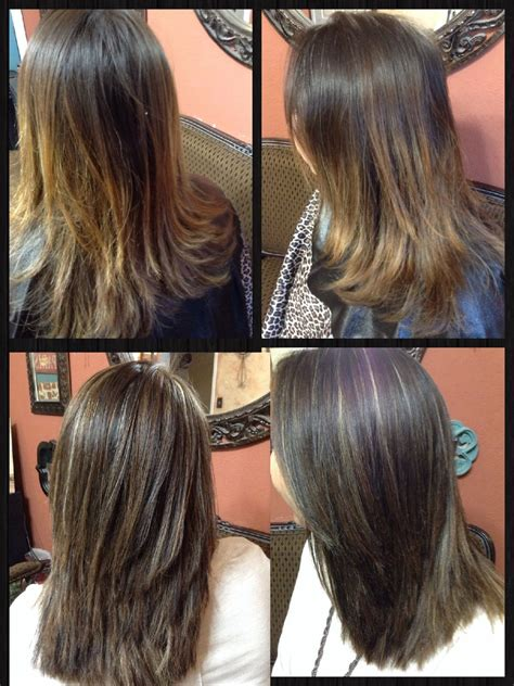 Tri Color Weave Cheyledo Cut Color Style Hair Light And Highlights Before And After Tri Color Weave 5n 7a And Thin Panels Of Chey Le Do Quot Where Hair
