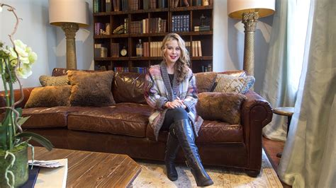 at home with today inside tara lipinski s cozy living