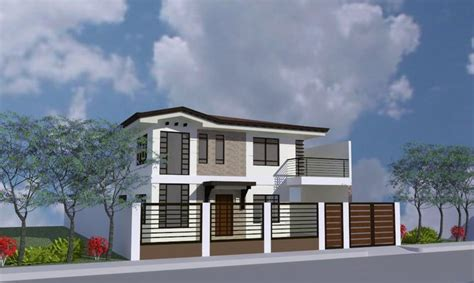 house design gallery philippines new house design by ab garcia construction inc
