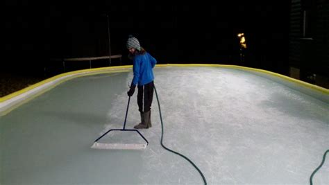 backyard rink resurfacer must have ice the portland press herald maine sunday