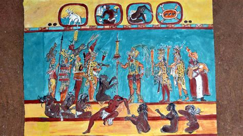 Deer Wall Murals bonampak living maya time