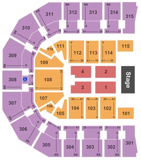 paul jones arena interactive seating chart rhett paul jones arena tickets rhett