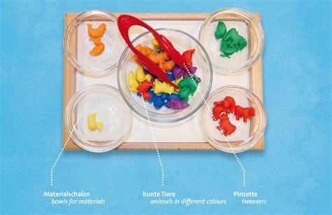 Farben Im Kindergarten Ideen by Neue Praxisideen F 252 R Aktionstabletts Im Kindergarten Die