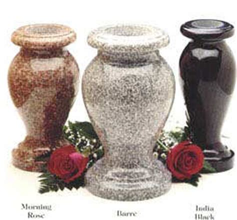 Granite Flower Vases by Products