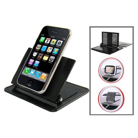 Car Dashboard Rubber Smart Stand Holder For Mobile Phon Promo smartphone holder dashboard mobil black