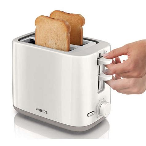 Toaster Philips Hd 2384 philips hd 2595 2 slice daily collection toaster 220 volts