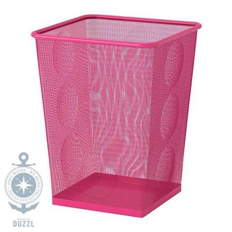 ikea kinderzimmer pink ikea dokument papierkorb pink rosa m 252 lleimer b 252 ro korb