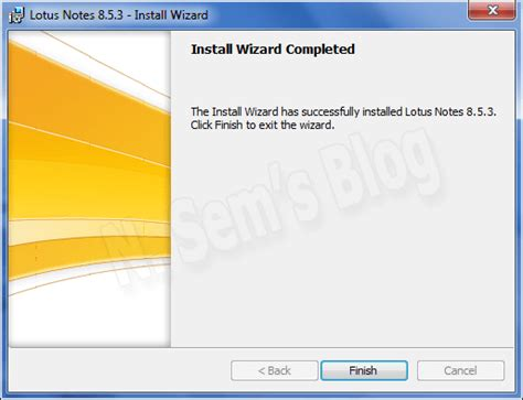 lotus notes client install free software