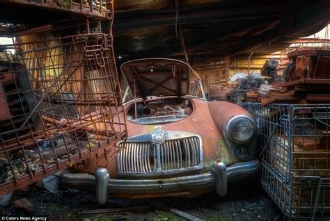 vehicles  rolls royces  ferraris  reduced  rust