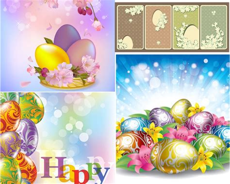 free downloadable clipart easter backgrounds vector clipart