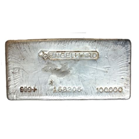 1 Ounce Silver Bar Size by Engelhard Silver Bars Sizes Purities And Where To Buy