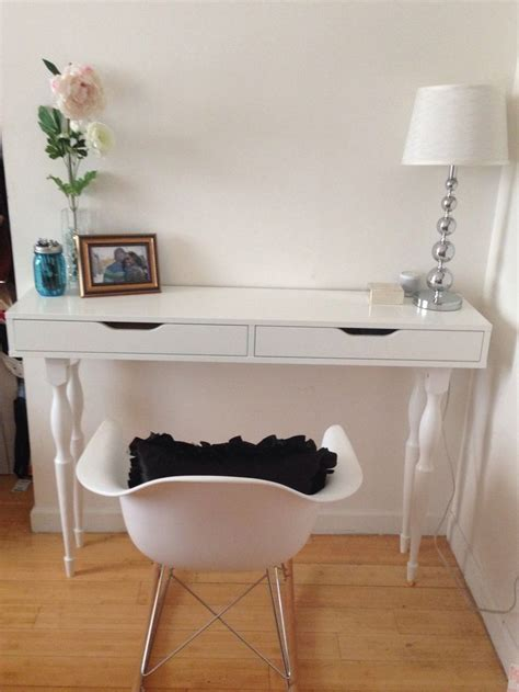 ikea dressing table hack ikea hack ekby alex shelf nipen table legs my diy desk new house ideas