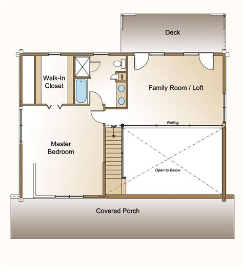 loft blueprints one bedroom log cabin plans with loft joy studio design