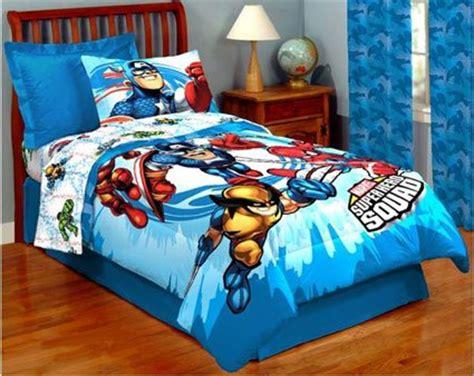 Marvel Superhero Squad Full Comforter Sheets Bedding New Marvel Crib Bedding