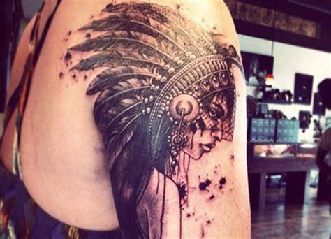 imagenes de indias aztecas tatuajes de indios americanos