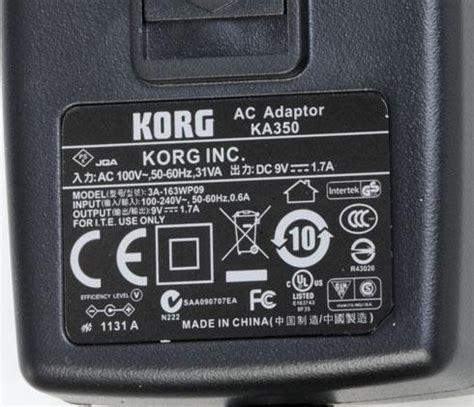 Adaptor Keyboard Korg korg ka350 power supply korg ka350 power supply parts is parts guitar parts lifier