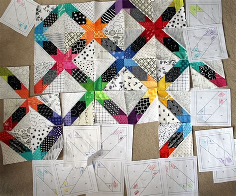 How To Make Paper Piecing Patterns - june 2013 wombat quilts
