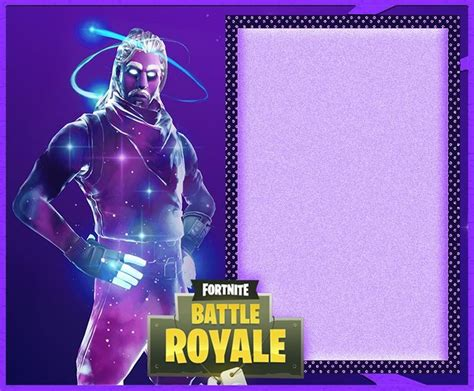 fortnite invitation templates  epic party birthday