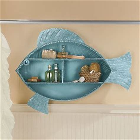 fish shelf bathroom make