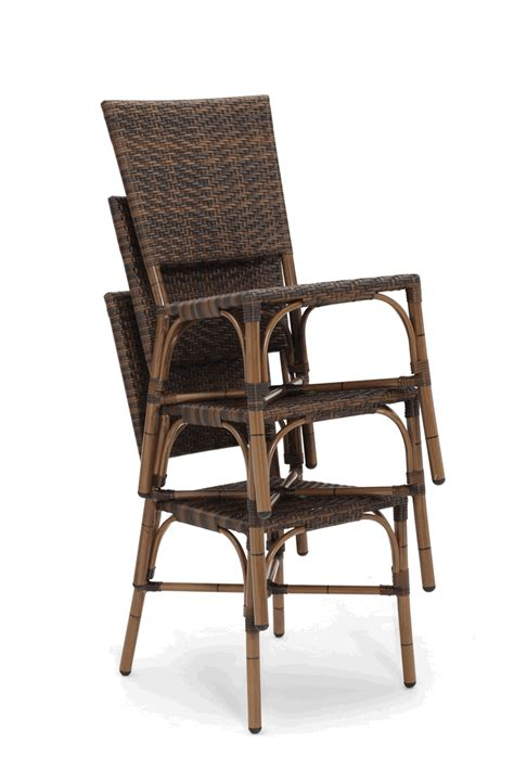 Bamboo Outdoor Chairs by Bamboo Weave Outdoor Restaurant Side Chair Bar