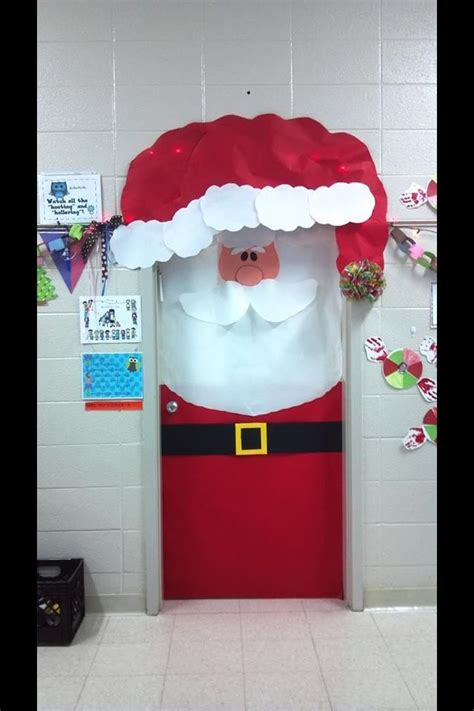 christmas classroom door classroom door decor pinterest