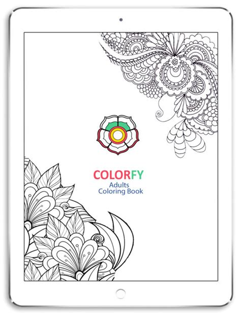 colorfy app coloring pages app shopper colorfy best adult anti stress coloring