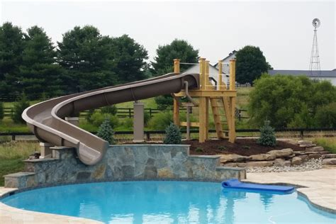Backyard Pool With Slide Backyard Pool Water Slides Banzai Splash Blast Lagoon Outdoor Water Slide Backyard Pool