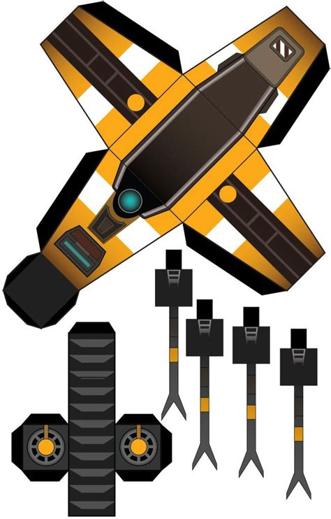 Claptrap Papercraft - build your own claptrap d borderlands