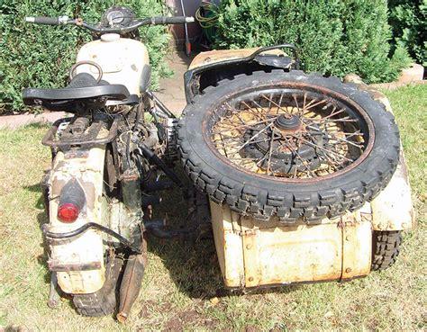 Motorrad Gespanne Ural by Ural M72 Gespann Restauration Kradblatt