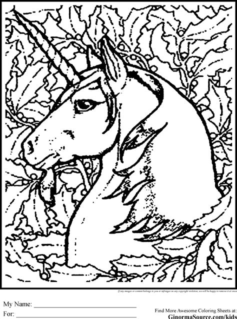 advanced coloring pages advanced coloring pages unicorn activities