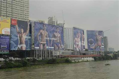 Philippine Volcanoes Bench Body Billboards Removed