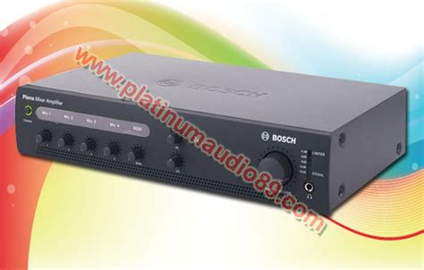 Daftar Mixer Audio Sound System bosch li ple 1me060 plena output 60 watt platinum audio sound system jual sound system