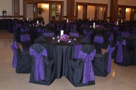 Purple Black White Wedding Ideas Tbdress And Theme Decorations