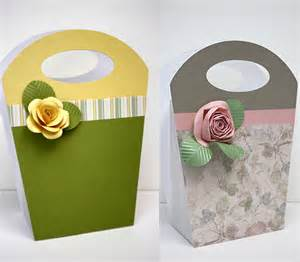 How To Make A Paper Gift Bag Templates by Gem S Cottage 194 187 Archive 187 Paper Flowers On Gift