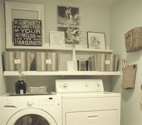 Wall Decor Laundry Room countertops and shelves wall decor for laundry room