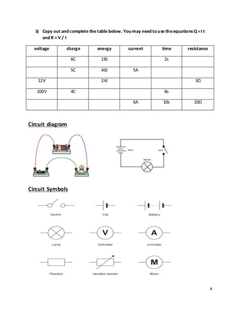 circuits resistors ws study guide and review calculating resistors worksheet 28 images 8 3 practicals worksheets current voltage in
