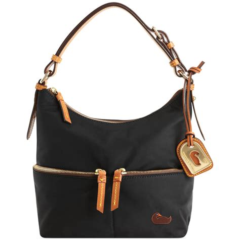 Dooney Bourke Ebelle5 Designer Dooney And Bourke Mini Handbag And Organizer Giveaway Ebelle5 Handbags Purses by Dooney Bourke Small Pocket Hobo In Black Lyst