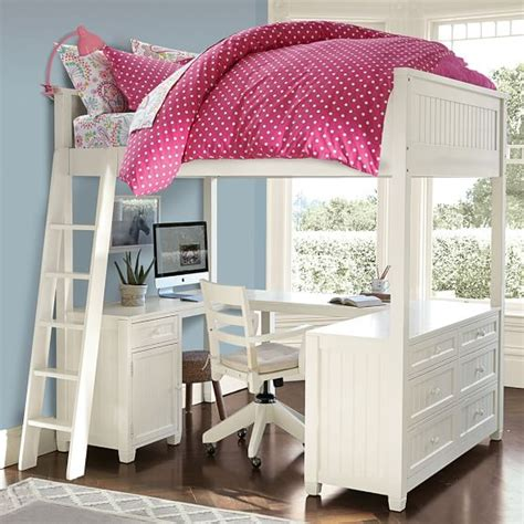 pottery barn loft bed with desk pottery barn teen bunk beds latitudebrowser