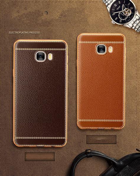 Samsung C9 Pro Protective 360 vaku 174 samsung galaxy c9 pro leather stitched gold