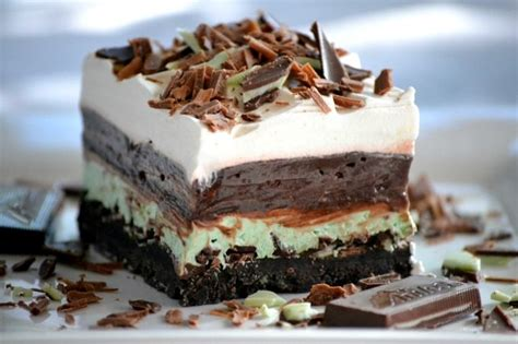 Mint Chocolate Dessert by Chocolate Mint Bars