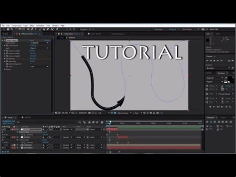 tutorial after effects path tutorial omino snake plugin bending layers along a path