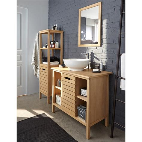 armoire salle de bain castorama