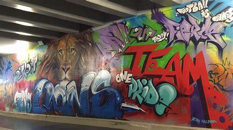 street art  taylor swift assist  lions tunnel