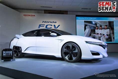mobil honda terbaru 2015 honda fcv mobil hidrogen terbaru semisena com