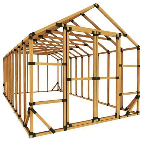 standard storage shed kit sheds    frame