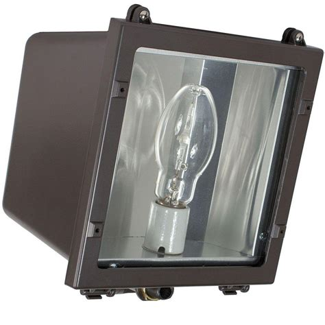 Hid Light Fixture Intermatic Fls Series 70 Watt Bronze Outdoor Hid Small Flood Lighting Fixture Fls70mql
