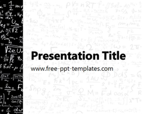 physics ppt template free powerpoint templates