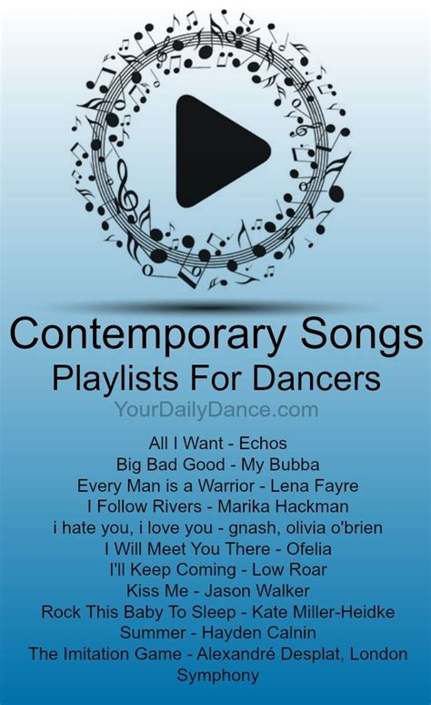 songs for contemporary contemporary songs playlist 38 contemporary