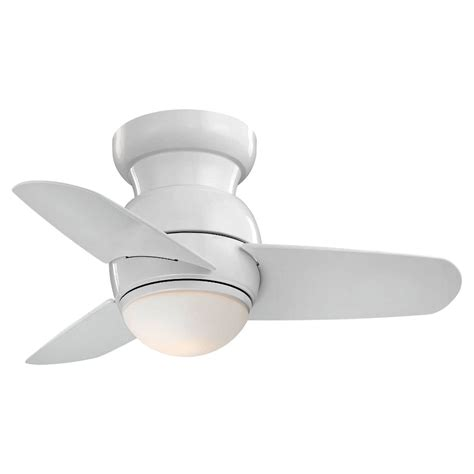 space saver ceiling fans minka aire f510 wh white spacesaver 26 quot ceiling fan w