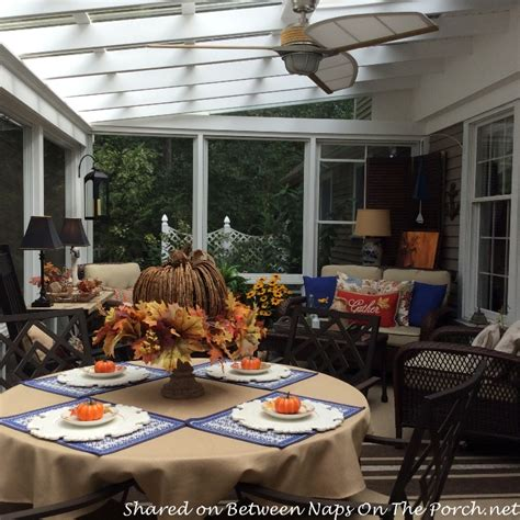 how to decorate your porch for fall fall decorating ideas for the porch or sunroom